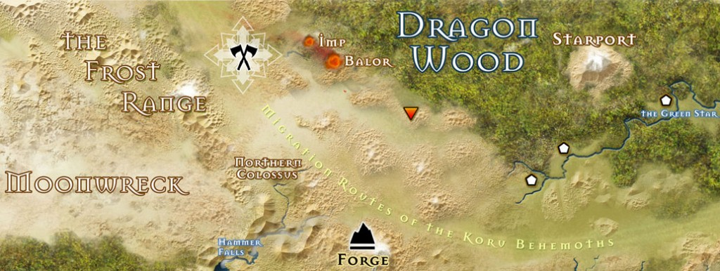 13th Age Map Snippet (not actually from Phelanar's game)